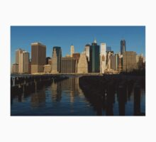 New York City Magic - Lower Manhattan Brilliant Reflections  Kids Clothes
