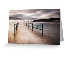 Sea Bridge Greeting Card