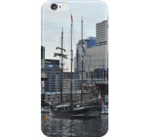 """Oosterschelde"" Departing Cockle Bay, Sydney, Australia 2013 iPhone Case/Skin"