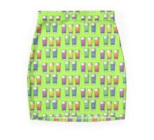5 shooters colored spirits drinks Mini Skirt