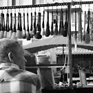 Buying Brushes, Xian by justineb