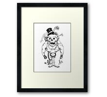 Of zombies and monsters Framed Print