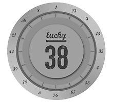 Lucky 38 - Platinum Chip Photographic Print