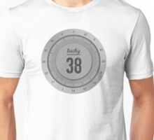 Lucky 38 - Platinum Chip Unisex T-Shirt