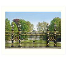 Royal palace - Brussels - Belgium Art Print