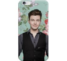 Chris Colfer Flowers iPhone Case/Skin