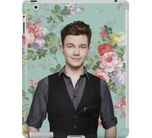 Chris Colfer Flowers iPad Case/Skin