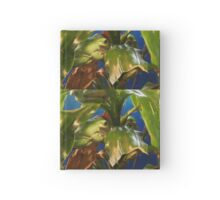 Green Tree Frogs Hardcover Journal