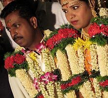 The Groom and Bride by Nupur Nag