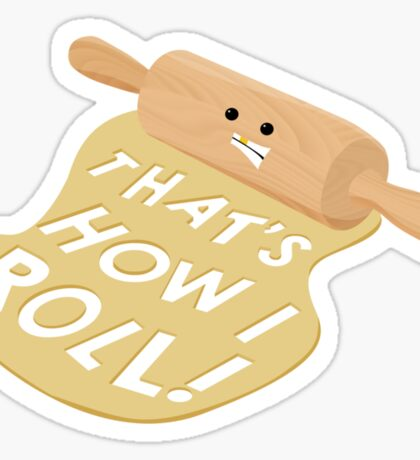 Dough Style Sticker
