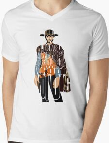 Blondie - The Good, The Bad and The Ugly Mens V-Neck T-Shirt