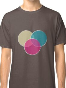 Overlapping Circle Pattern Classic T-Shirt