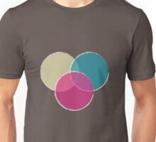 Overlapping Circle Pattern Unisex T-Shirt