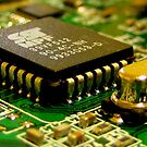 A Computer Chip by Phil Campus