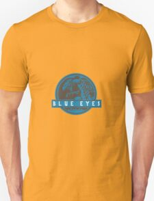 Blue Eyes  White Jurassic Dragon  Unisex T-Shirt