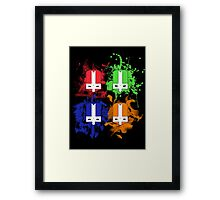 Rage of the Champions Framed Print
