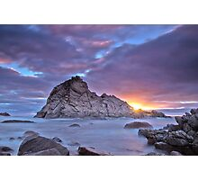 Sunset at Sugarloaf Rock Photographic Print