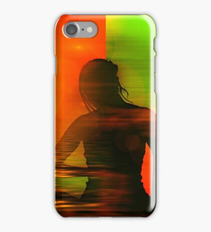 Yoga meditation iPhone Case/Skin
