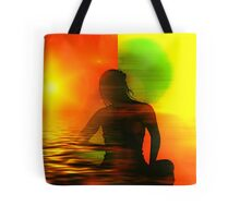 Yoga meditation Tote Bag