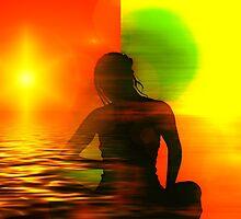 Yoga meditation by tanabe