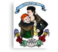 Ian & Mickey Canvas Print