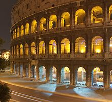by night... the Colosseum by Niek Broens