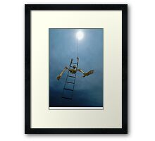 Stairway To Heaven? Sculptures By The Sea 2011 Framed Print