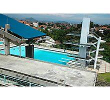 pool podium Photographic Print