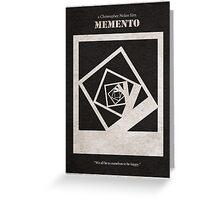 Memento Greeting Card