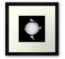 Inverted Marauders Moon Framed Print