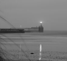 Blyth Pier, Horrible Weather by Ben Smith