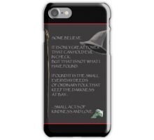 GandalfWizdom iPhone Case/Skin