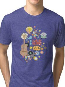 I Love the 60's Tri-blend T-Shirt