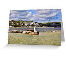 Those White Cliffs of Dover Greeting Card