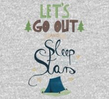 Let's Go Out and Sleep under the Stars Kids Clothes