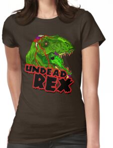 Undead Rex Womens Fitted T-Shirt