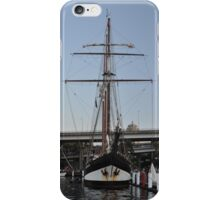"Tall Ship ""Oosterschelde"", Sydney, Australia 2013 iPhone Case/Skin"