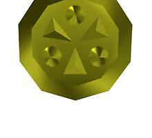 The Legend of Zelda: Light Medallion by j-sef