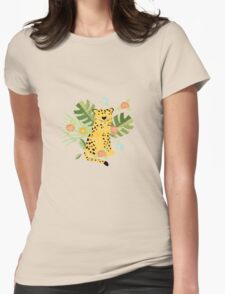 Jungle Adventure Womens Fitted T-Shirt