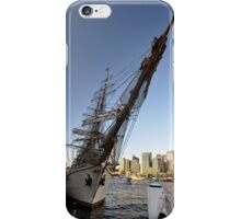 "Tall Ship ""Europa"" & Sydney Skyline, Australia 2013 iPhone Case/Skin"