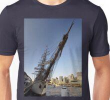 "Tall Ship ""Europa"" & Sydney Skyline, Australia 2013 Unisex T-Shirt"
