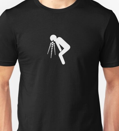 puke small Unisex T-Shirt