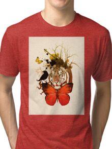 no sad  Tri-blend T-Shirt