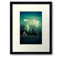 Rolling Suburbia Framed Print