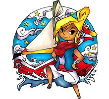 Legend of Zelda Wind Waker Tetra Photographic Print