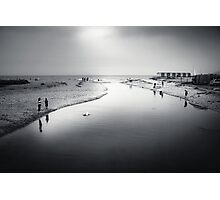 Charmouth - bw Photographic Print