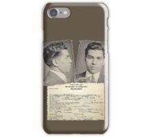 Lucky Luciano Wrap Sheet iPhone Case/Skin