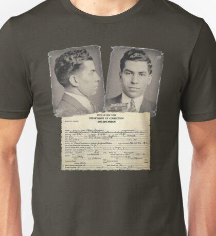 Lucky Luciano Wrap Sheet Unisex T-Shirt