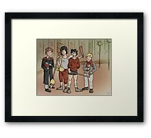 Early Morning Training Framed Print