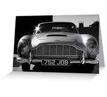 1965 Aston Martin DB5 4.2 Litre Greeting Card